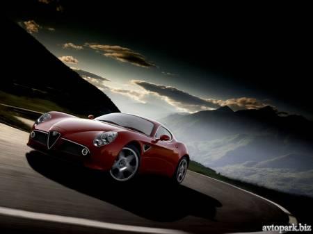Alfa Romeo спереди